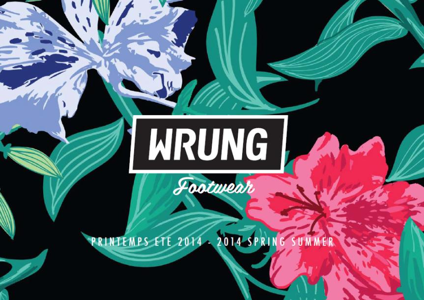 Catálogo Wrung calzado verano 2014 - Página 1